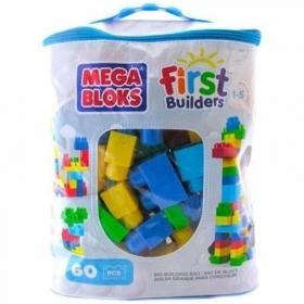 MEGA BLOKS kaladėlių rinkinys ( krepšyje 60 det.)