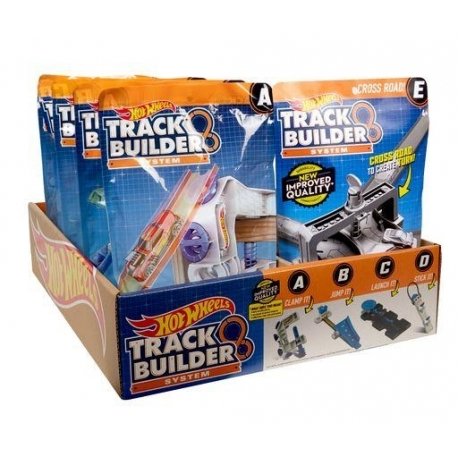 Hot Wheels Track Builder trasos priedai