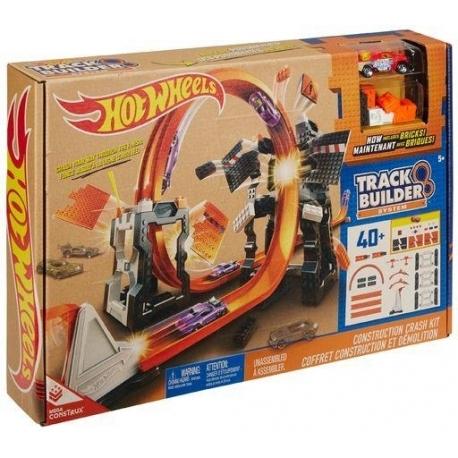 """Hot Wheels Track Builder rinkinys """"Neįveikiama siena"""""""