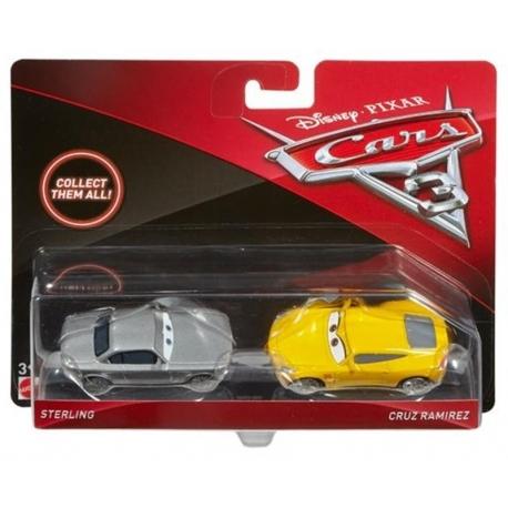 Dviejų CARS 3 automodelių 1:55 rinkinys