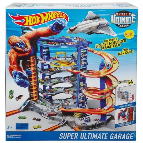 Hot Wheels super garažas