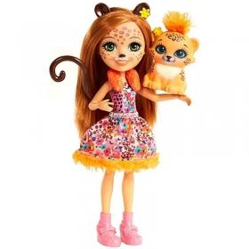Herojė Gepardė Cherišė su gyvūnėliu
