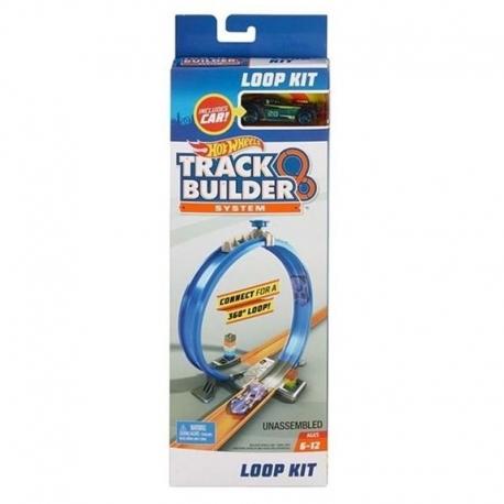 Hot Wheels Track Builder žaidimo rinkinys ( triukai, paleidikliai, kilpos)