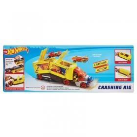 HW sunkvežimis su iššokančiais automodeliais