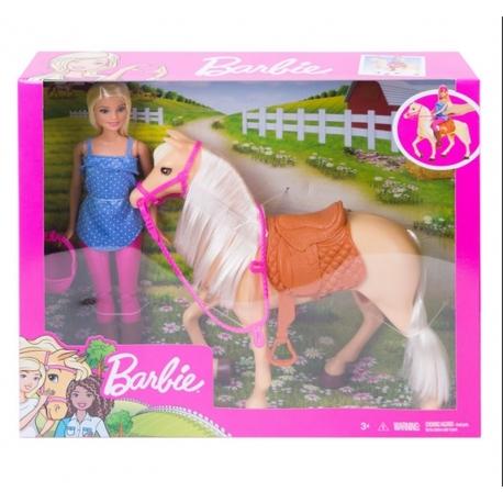 Barbė ir jos žirgas