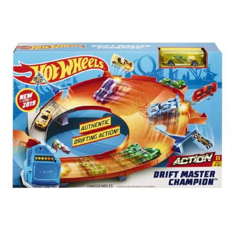 Hot Wheels čempionų trasų priedai