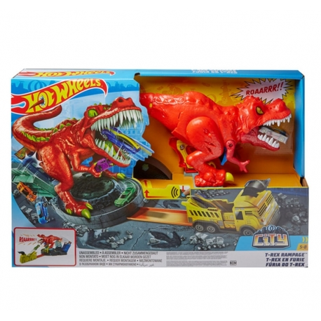 "Hot Wheels rinkinys ""Dinozauro nasrai"""