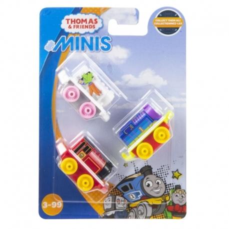 Trijų Thomas & Friends mini garvežiukų rinkinys