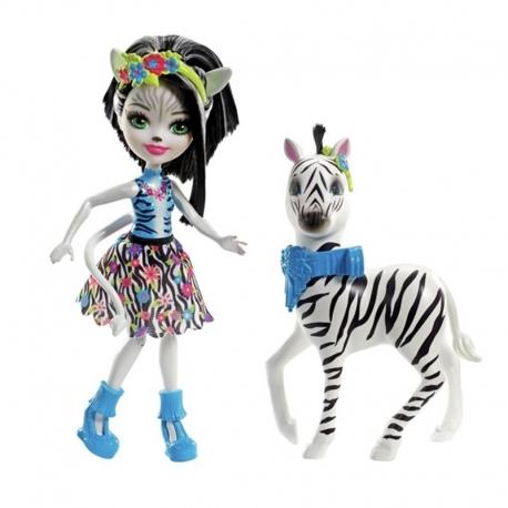 Herojė su žirafa/zebriuku/drambliuku