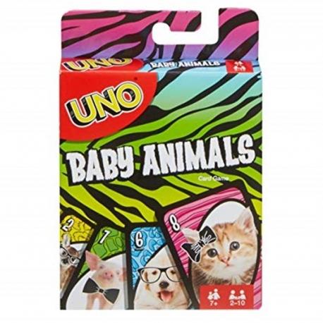 """UNO kortos """"Gyvūnų mažyliai"""""""