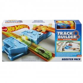 Hot Wheels Track Builder rinkinys su stiprintuvu