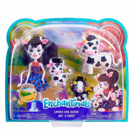 Enchantimals rinkinys Gyvūnėlių šeima
