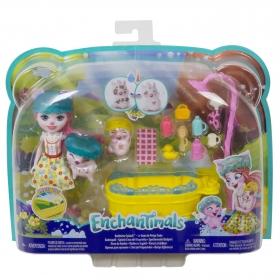 Enchantimals rinkinys Maudynės vonioje