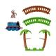 Thomas&Friends trasa Afrika