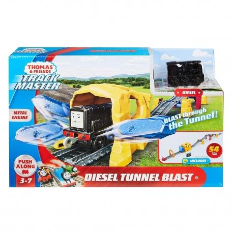 Thomas&Friends trasa Dyzelio tunelis