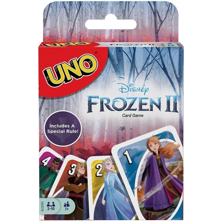 UNO kortos Frozen/Ledo šalis II