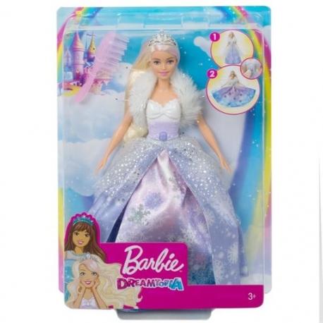 Barbė žiemos princesė Dreamtopia