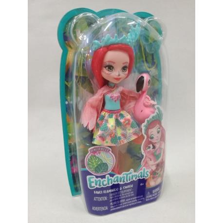 Enchantimals herojė Flamingė Fencė PP
