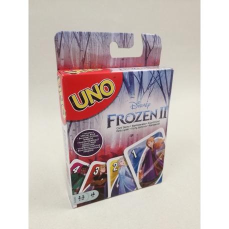 UNO kortos Frozen/Ledo šalis II PP