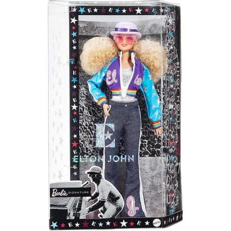 Kolekcijinė Barbė įkvėpta Eltono Džono