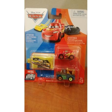 Prekė Trijų CARS 3 automodelių 'Mini lenktynininkas' PP