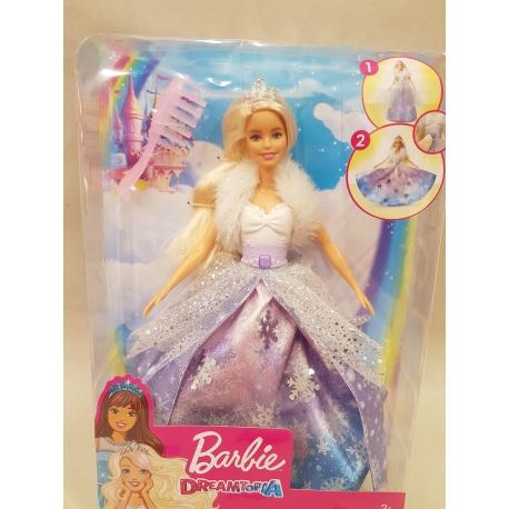 Barbė žiemos princesė Dreamtopia PP