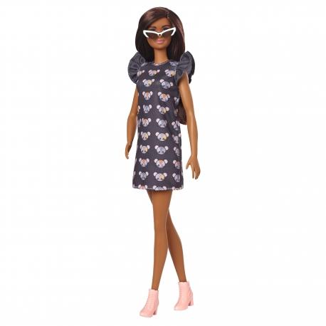 Barbė madistė peliukais marginta suknele 2021