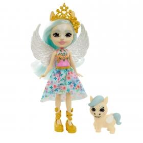Enchantimals herojė pegasė Paolina su gyvūnėliu