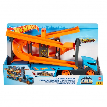 Hot Wheels transporteris su triukais