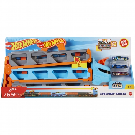 Hot Wheels transporteris - greitkelis