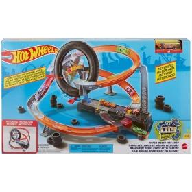 "Hot Wheels trasa ""Padangų gamykla"""