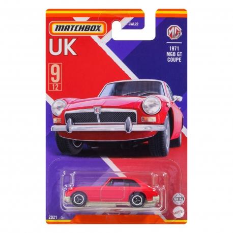 MB populiariausi Jungtinės Karalystės automodeliukai