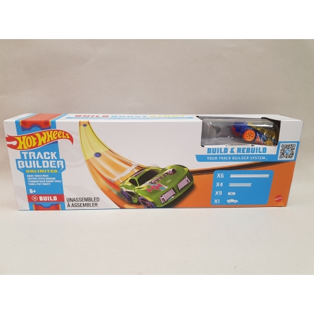 Hot Wheels track builder trasų prailginimai PP