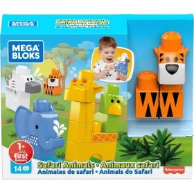"""Mega Bloks """"Safari gyvūnai"""" (14 det.)"""
