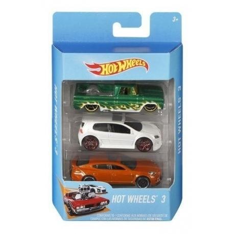 Trijų Hot Wheels automodelių rinkinys