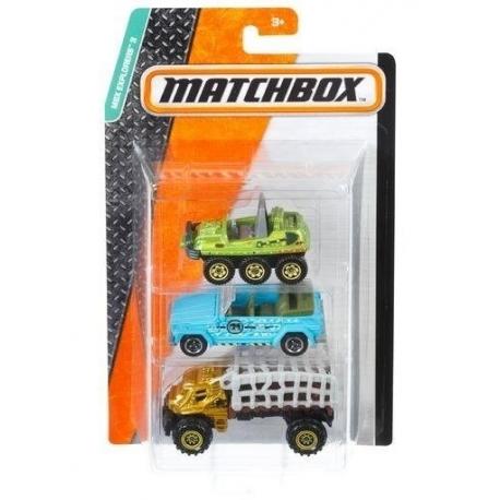 Matchbox trijų automodelių rinkinys