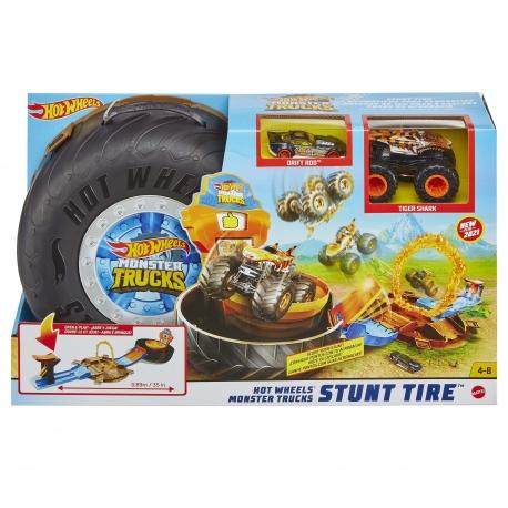 """Hot Wheels triukų rinkinys """"Padanga džipams"""""""