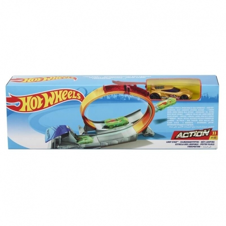 Hot Wheels triukų trasa FTH79