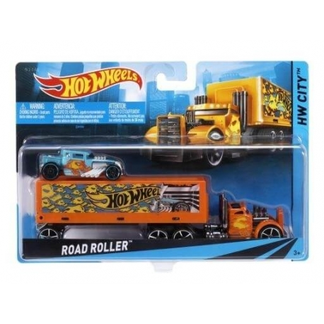 Hot Wheels transporterio ir automodelio rinkinys