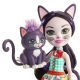 Enchantimals herojė katytė Siesta