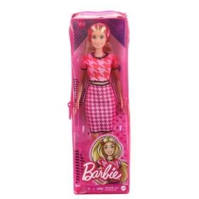 Barbė madistė rožiniu kostiumėliu