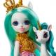 Enchantimals karališka lėlė Unitė su gyvūnėliu