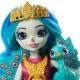 Enchantimals karališka lėlė Penelopė su gyvūnėliu