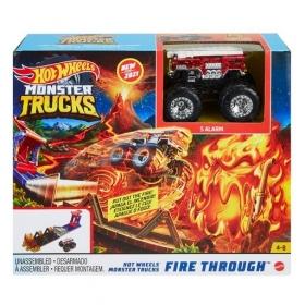 Hot Wheels žaidimų rinkiniai Monster Truck džipams