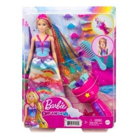 Barbė Dreamtopia princesė su plaukų sukimo prietaisu